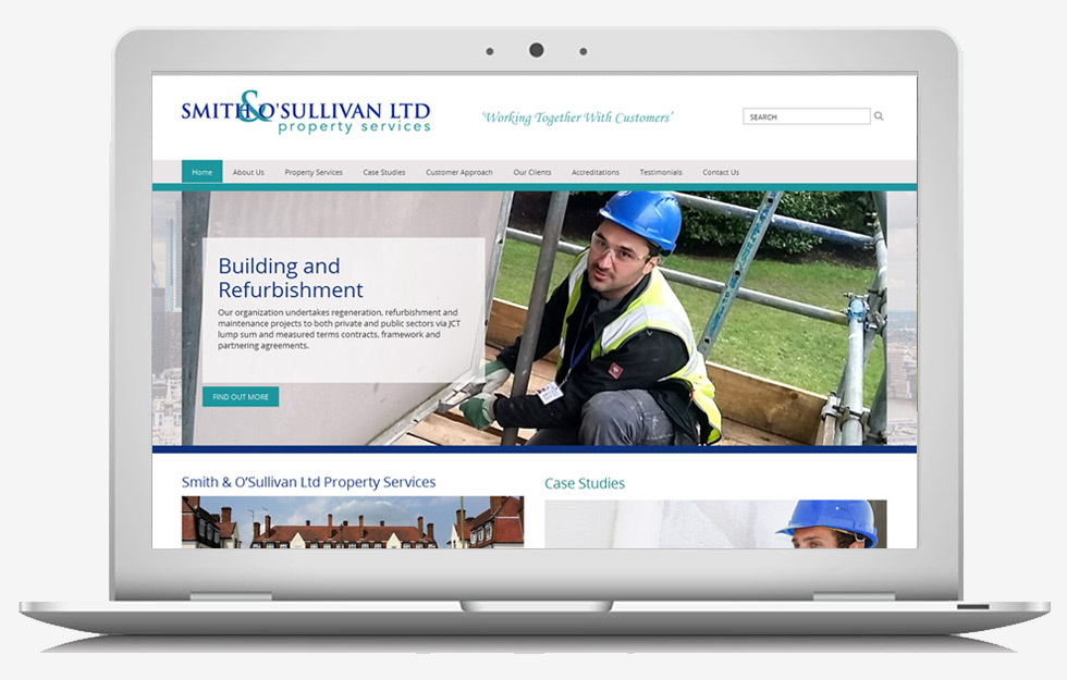 Web Design Basildon - Smith O'Sullivan