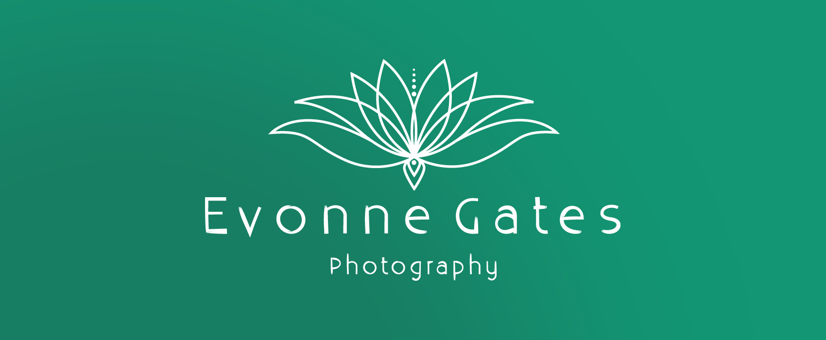 Evonne gates Photography Logo Design