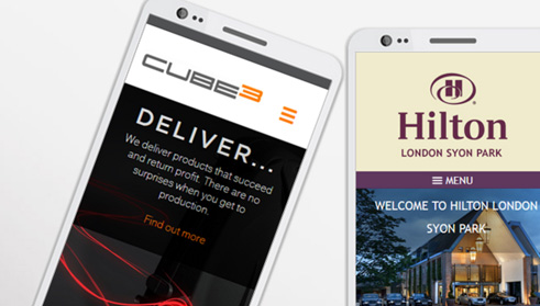 Responsive web design essex